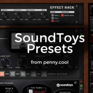 Presets for SoundToys