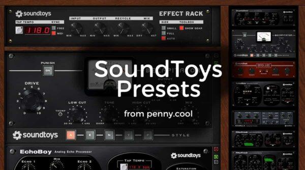 Presets for SoundToys
