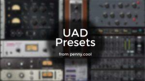 Presets for UAD