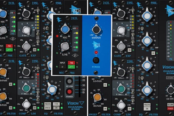 UAD API Vision Channel Strip and Preamp
