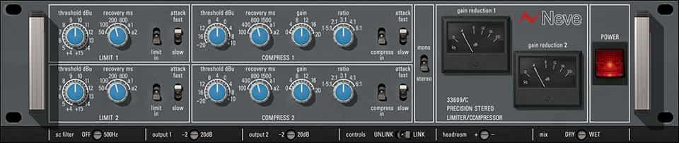 UAD Neve 33609 Compressor
